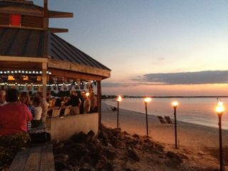 Ruskin condo photo - You'll come to the Tiki bar for the views, you'll come back for the Rum Runners!