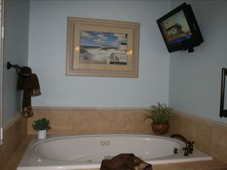 St. Simons Island house photo - Jacuzzi in Master Bath