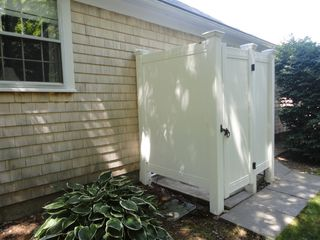 Yarmouth house photo - Experience the feeling of an outdoor shower!