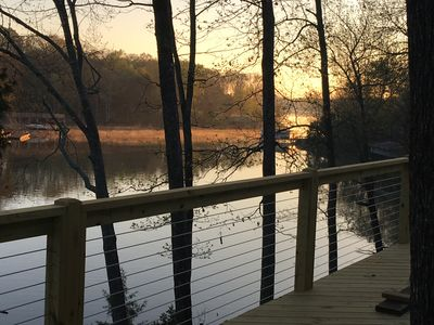 ELK RIVER CABIN with PRIVATE DOCK in secluded cove with year round water access!