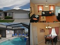 Sept. Special for Villa!!! 4BR 2BA Home 10 Minutes To Disney With Private Pool