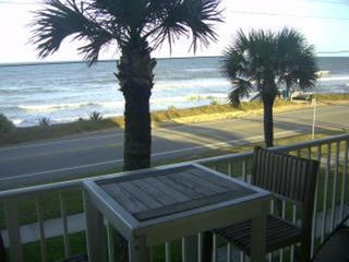 Ormond Beach condo photo - balcony