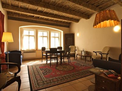 Mala Strana - Hradcany apartment rental - Living room serves as a 3rd bedroom if necessary