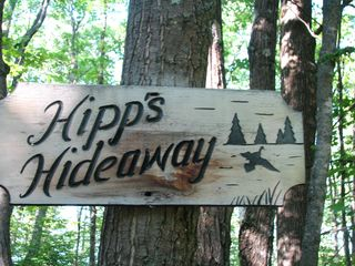 Hayward house photo - Driveway Sign... 2 wooded acres with a county forest adjoining property.