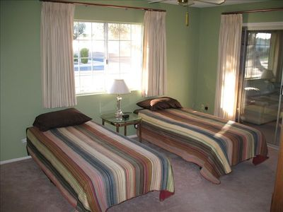 Second BR with Twin beds