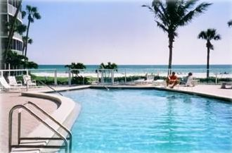 Siesta Key condo rental - Enjoy the beach and then a dip in our beachside heated pool !