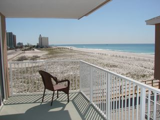 Pensacola Beach condo photo - View from living room balcony.