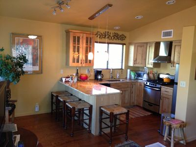 Upgrades galore with granite and all stainless appliances.