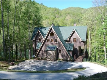 Lake Nantahala house rental - Beautiful property on the lake with private dock