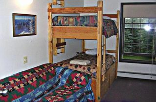 Silverthorne house photo - Family room with bunk beds and hideaway bed