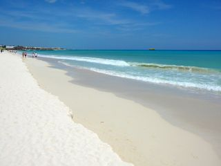 You can walk for miles along our newly restored beach. - Playa del Carmen villa vacation rental photo