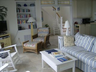 Kure Beach house photo - Living area
