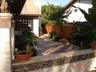 Carlsbad house photo - Front Courtyard & Entry!