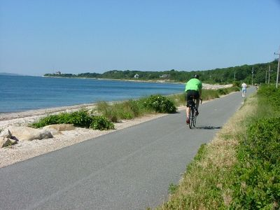 Falmouth house rental - Shining Sea Bikeway: Delightful for anyone who walks, bikes, roller blades,runs
