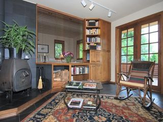 Boulder condo photo - Living Room with wood burning stove