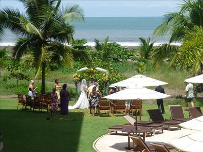 Picture your dream wedding at this resort.