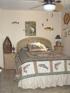 Second bedroom- Fish room