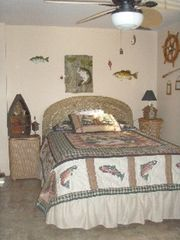 Lapeer cabin photo - Second bedroom- Fish room