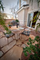 Las Vegas townhome photo - Backyard Patio/BBQ from Kitchen/Living Rooms