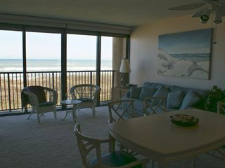 South Padre Island condo photo - Watch the waves while preparing breakfast
