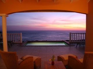 Curacao villa photo - Another glorious sunset