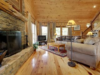 Blue Ridge cabin photo - Livingf Area