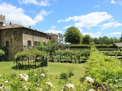 Eremo Foresteria Apartment for rent with swimming pool in Gaiole in Chianti