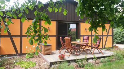 """Holiday house beautifully situated on the edge of the national park """"Lower Oder Valley"""""""
