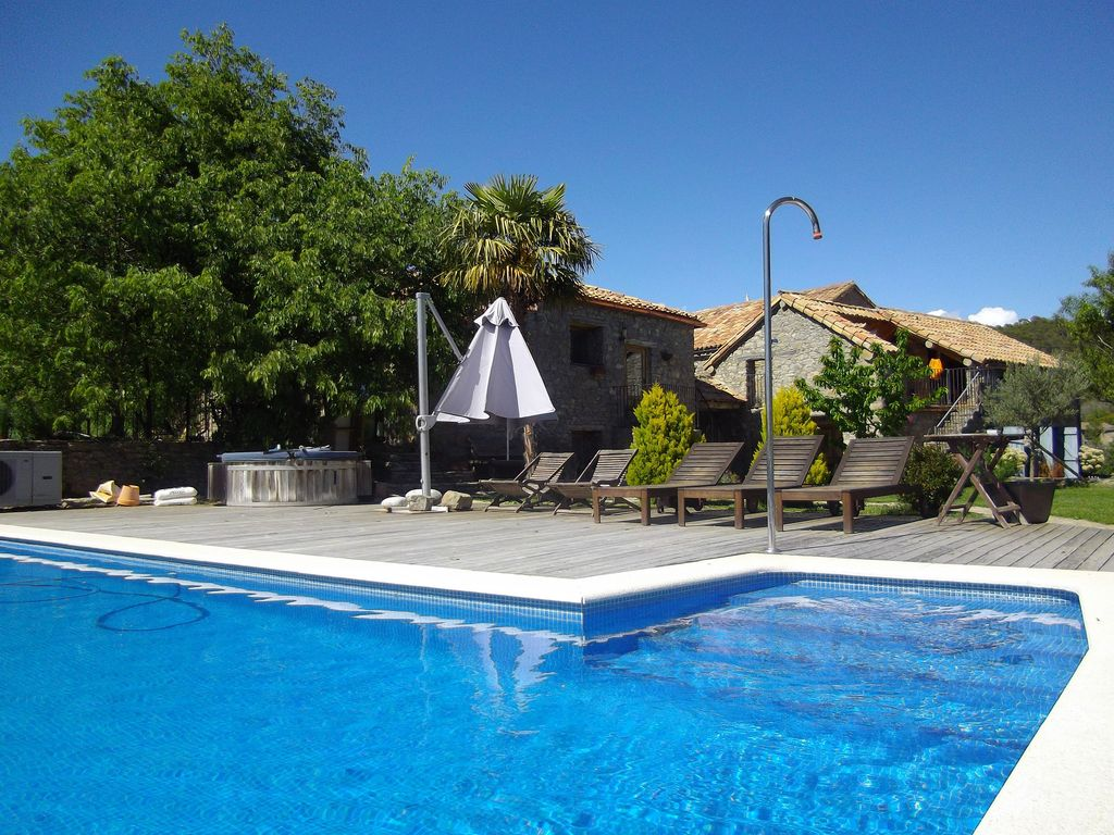 Charming cottage with swimming pool homeaway la fueva Cottages with swimming pools to rent