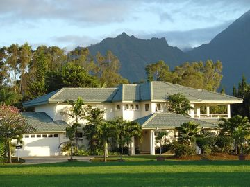 Princeville house rental - Front of Home