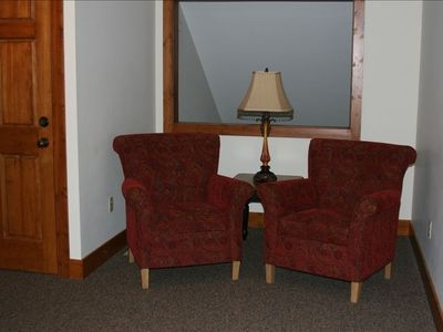 Boyne Highlands condo rental - Reading Nook - bookcase with lots of books