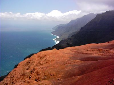 Hiking Napali Coast