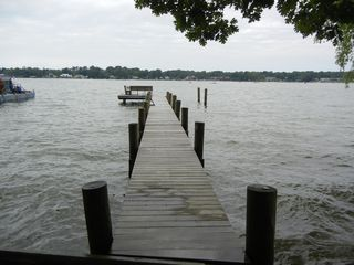 Watervliet property rental photo - Pier view