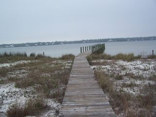 Gulf Shores house photo - Your own private dock...just what you need for your for a boat or jet ski!