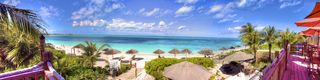 Providenciales - Provo condo photo - Luxury Penthouse living - huge glass sliding doors that open to an amazing view