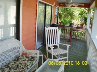 Tybee Island house photo - Balcony (8' x 25') north view