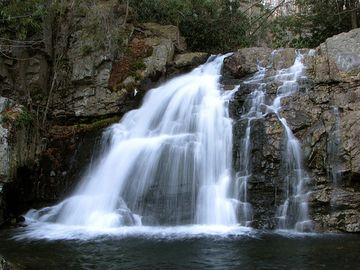 Hawk Falls in Hickory Run State Park. Just a 10 minute car ride to great trails