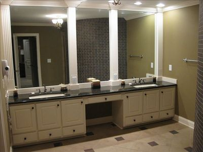 Master bath on 3rd floor