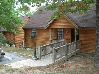 Side by side twin cabins - Branson cabin vacation rental photo