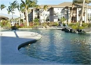 Main pool and spa at the Waikoloa Colony Villas - steps away from our Villa