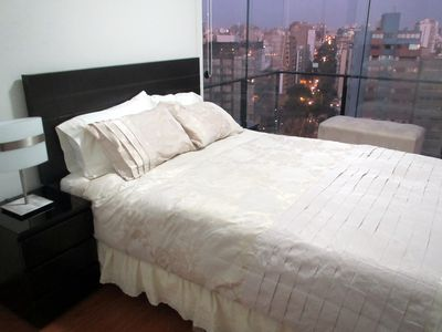 Wake up with an very nice view of Miraflores (second bedroom)