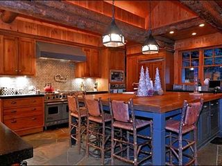 Ketchum house photo - Gourmet, Fully Equipped Kitchen with Seating
