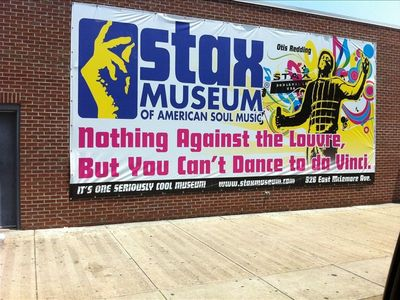 Only a couple miles from the Stax Museum