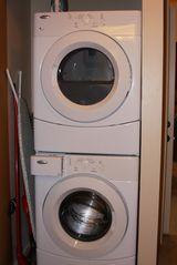 Pinetop condo photo - Full size washer and dryer