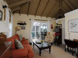 Governor's Harbour cottage photo - Upper Floor Living Room with Lanai Beyond