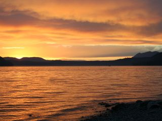 Whitefish condo photo - Whitefish Lake At Sunset