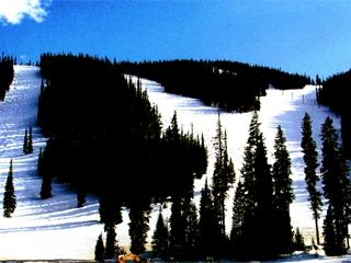 Granby condo photo - View of some of the ski runs at Sol Vista!
