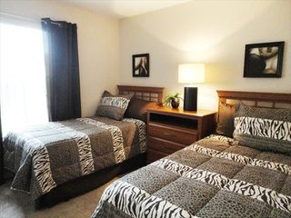 Regal Palms townhome photo - Safari Room has twin beds