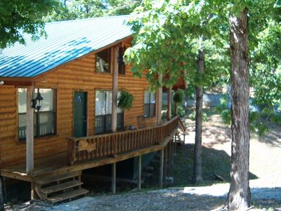 Bent Tree Cabin Front Porch