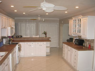 Kitchen, large and fully equipped for up to 12 people